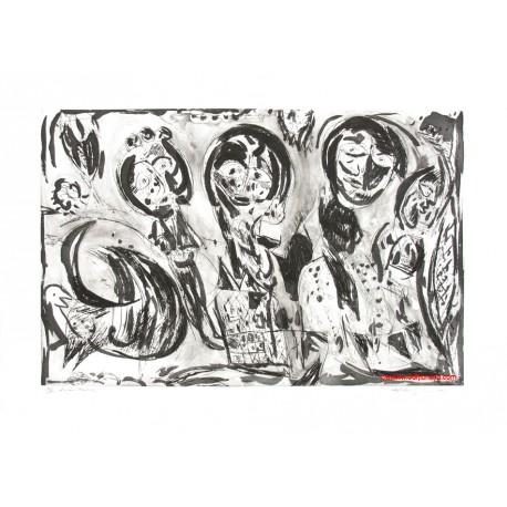 Le grand Meaulnes N gravure de Carl-Henning Pedersen