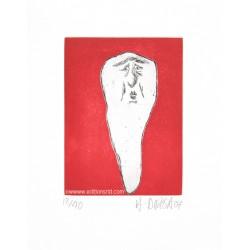 Dent N°19 gravure originale de Hervé Di Rosa