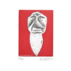 Dent N°18 gravure originale de Hervé Di Rosa
