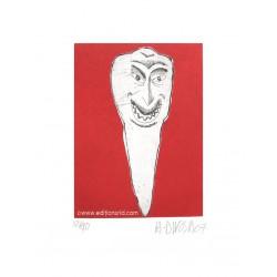 Dent N°17 gravure originale de Hervé Di Rosa