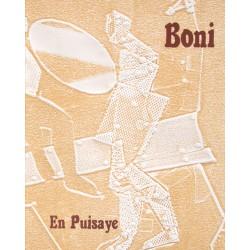 Paolo Boni En Puisaye N°4 texte de Michel Butor