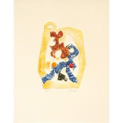 Recyclage gravure de Paolo Boni pour En Puisaye / Uniquement dans les exemplaires de 1 à 80