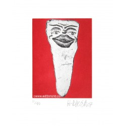 Dent N°11 gravure de Hervé Di Rosa