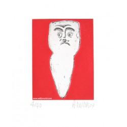 Dent N°6 gravure de Hervé Di Rosa
