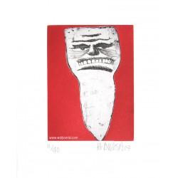 Dent N°3 gravure de Hervé Di Rosa