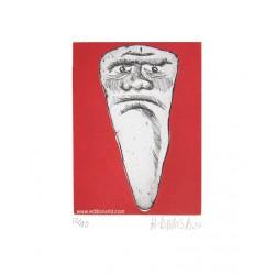 Dent N°2 gravure de Hervé Di Rosa