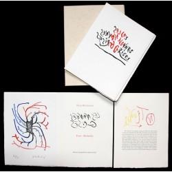 Les nonnes grises - Livre d'artiste de Pierre Bettencourt et Pierre Alechinsky