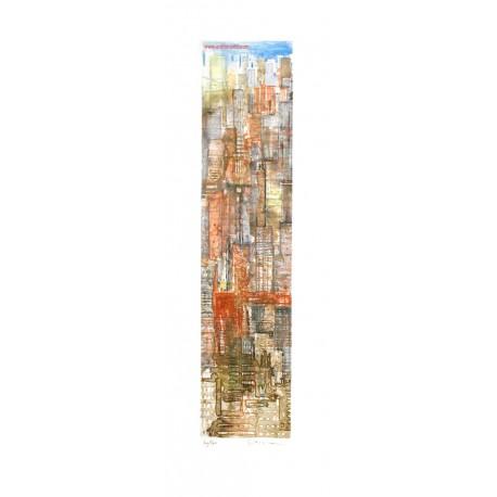New York Midtown gravure de Gottfried Salzmann
