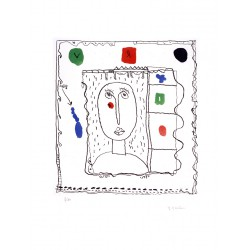 Gravure originale de Michel Macréau