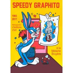 AFFICHE RÉTROSPECTIVE Speedy Graphito