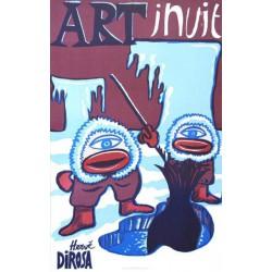 Art inuit - Affiche de Hervé Dirosa