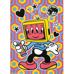 CARTE LOVE de Speedy Graphito