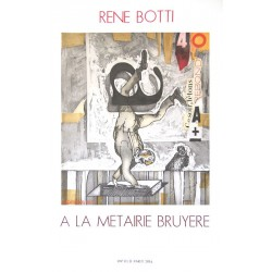 Rebond - Affiche originale de René Botti
