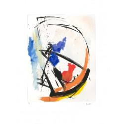 COMPOSITION N°8 Gravure de Jean Miotte