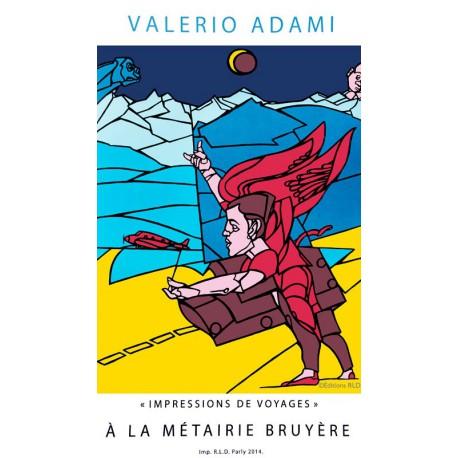 L'ange - Affiche de Valerio Adami