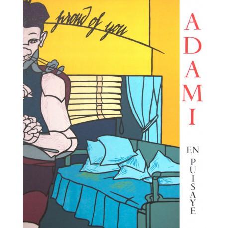 """Valerio Adami - Octavio Paz - En Puisaye"""" N°11"""