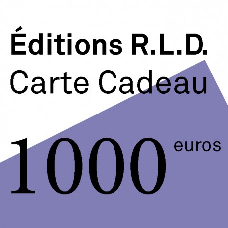 CARTE CADEAU 1000 €