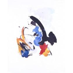 COMPOSITION N°5 gravure Jean Miotte