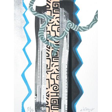 DORNY - Lithographie originale / Uniquement dans les exemplaires de 1 à 80 / En Puisaye N°13
