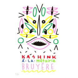 KASHINK À LA MÉTAIRIE / Affiche