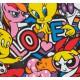 LOVE lithographie de Speedy Graphito / Détail