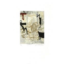 Constellation - Gravure de Richard Texier