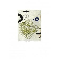 Mille chats - Gravure de Richard Texier