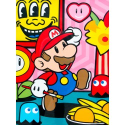 ART IS A GAME, acrylique de Speedy Graphito
