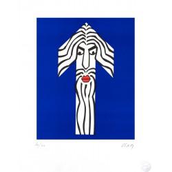 CONCITA / Fille Plouc, lithographie de Clet