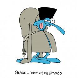 MARIE-CHRIS / Grace Jones et Casimodo