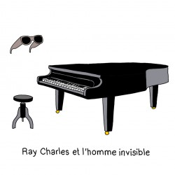 MARIE-CHRIS / Ray Charles and the invisible Man