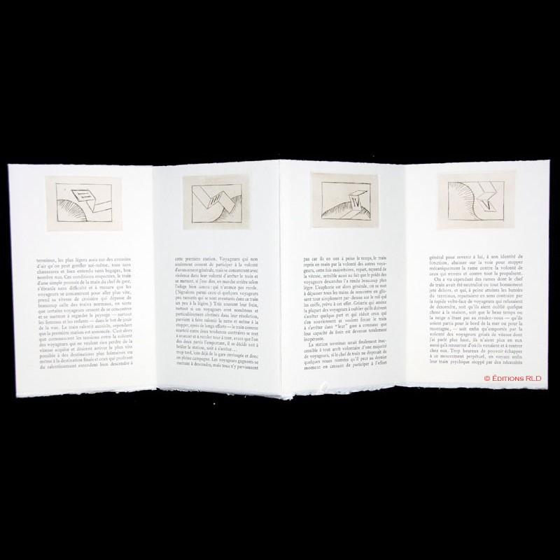 Les trains spychiques de pierre bettencourt et pierre for Alechinsky oeuvres