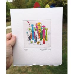 CYKLOP FAMILY #7 by Le Cyklop