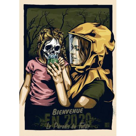 BIENVENUE EN 2020 Poster de RNST