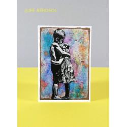 CARTE D'ART JEF AÉROSOL