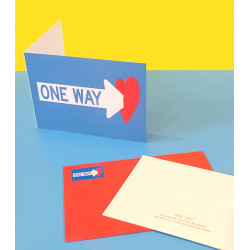Clet card / One Way