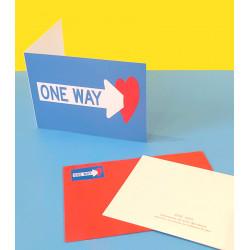 Tarjeta Clet / One Way