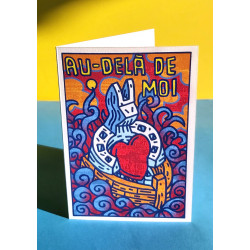 CARTE D'ART SPEEDY GRAPHITO