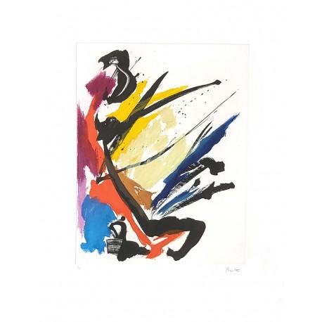 COMPOSITION N°1 de Jean Miotte