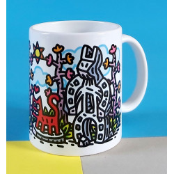 MUG / Old friends by Speedy Graphito