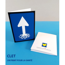 CARTE D'ART CLET