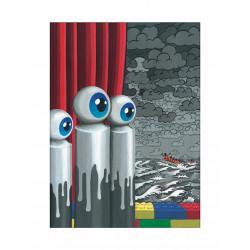 La traversée difficile d'après Magritte