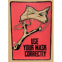 USE YOUR MASK CORRECTLY by RNST