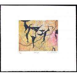 Navigo gravure originale de Richard Texier