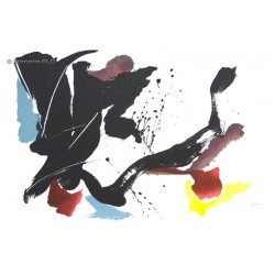 Univers lithographie originale de Jean Miotte