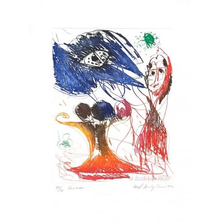 Fructidor gravure de Carl-Henning Pedersen