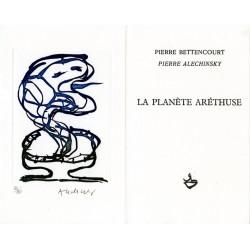 La planète Aréthuse de Pierre Bettencourt et Pierre Alechinsky
