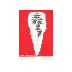 Dent N°30 gravure originale de Hervé Di Rosa