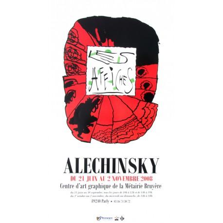 Les affiches de Pierre Alechinsky